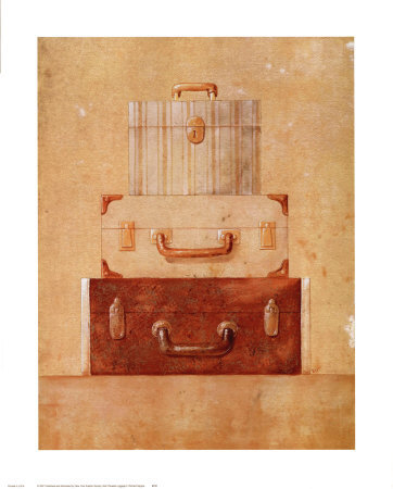 Well-Traveled-Luggage-II-Print-C10081199