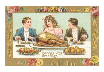 Children-at-turkey-dinner