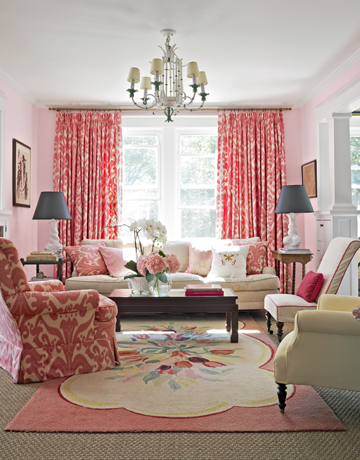 Soft, bold, and floral, this room combines all three for a lovely atmosphere!