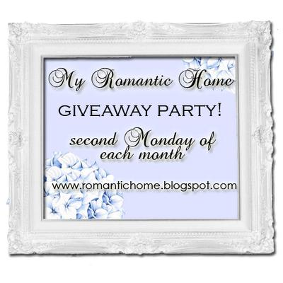 "A Favorite Blog ~ ""My Romantic Home"""