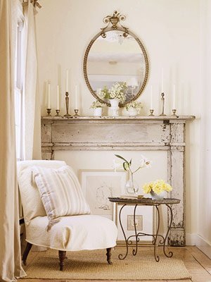 Shabby Chic Home Decor on Seasons For All At Home  Decorating In Shabby Chic