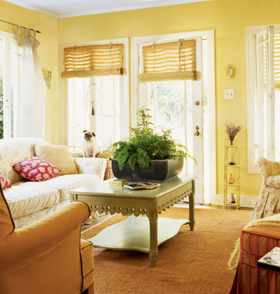 Seasons for All at Home: Cheerful Rooms, Yellow Walls