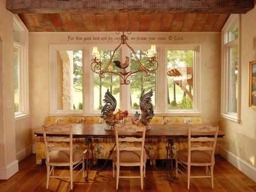 Seasons for all at home country rustic decor for Country dining room wall art