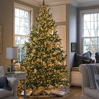 Decorated-christmas-tree-l Southern Living